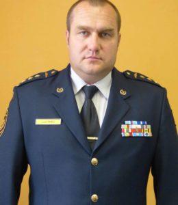 Lektor plk. Lukas Kmec - uniforma